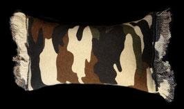 Kissen Camouflage mit Catnip oder Baldrian