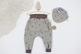 tick-tock Musselin Baby/Kids Jogger+Tuch Set