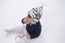 tick-tock Baby Sweat Stiefel, Zipfelmütze, Set-