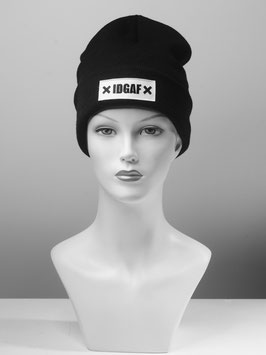 ✖ IDGAF ✖ PATCHED BEANIE