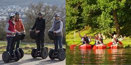 Incentive Halbtagesausflug Segway-Tour & Kanu