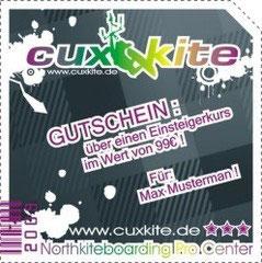 Cuxkite-Geschenkgutschein