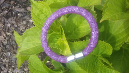 STARDUST ARMBAND, lila mit funkelnden Kristallen