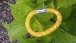 STARDUST ARMBAND, gelb mit funkelnden Kristallen