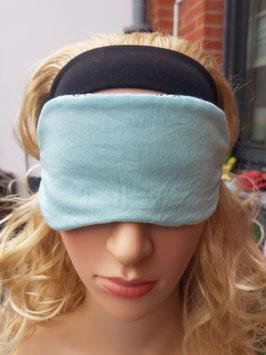 Schlafmaske zum Wenden, grau