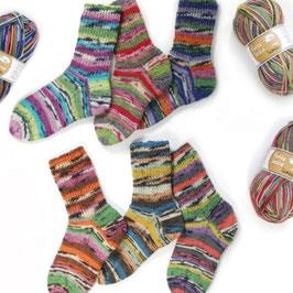Flotte Socke 4 fädig  Samba