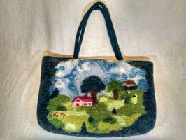 Gefilzte Handtasche feltet handbag