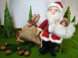 Gefilzter Weihnachtsmann