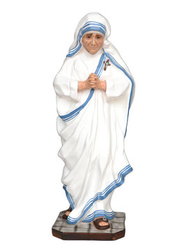Saint Mother Teresa of Calcutta statue cm. 60