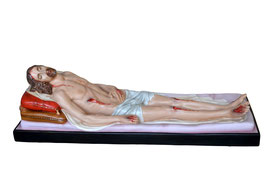 Jesus dead fiberglass statue cm. 150