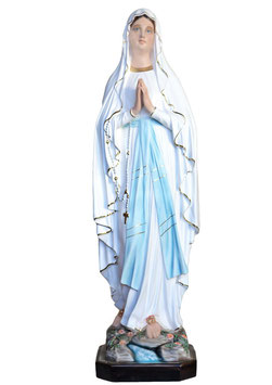 Our Lady of Lourdes statue cm. 127