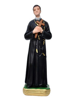 Saint Gerard Majella statue cm. 25