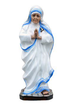 Saint Mother Teresa of Calcutta statue cm. 32