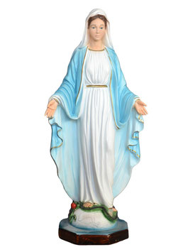 Our Lady of Grace resin statue cm. 40