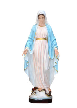 Our Lady of Grace fiberglass statue cm. 180