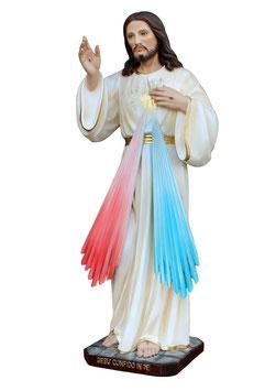 Jesus divine mercy resin statue cm. 60