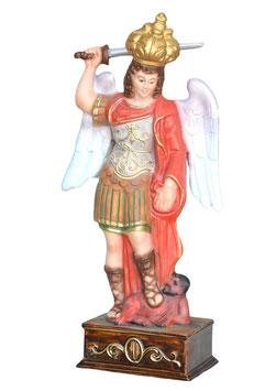 Saint Michael statue cm. 32