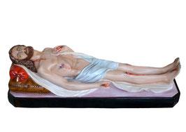 Jesus dead fiberglass statue cm. 115