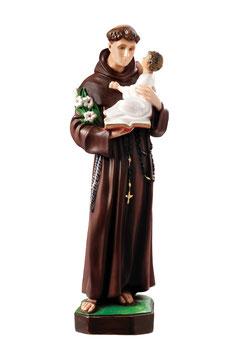 Saint Anthony of Padova statue cm. 65