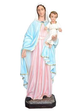 Mary and Baby fiberglass statue cm. 170