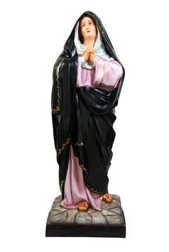 Our Lady of Sorrows fiberglass statue cm. 150