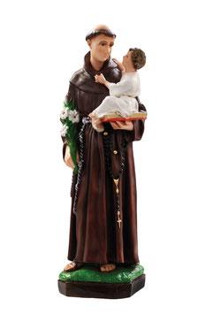 Saint Anthony of Padova statue cm. 50