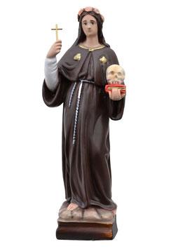 Saint Rosalia statue cm. 30