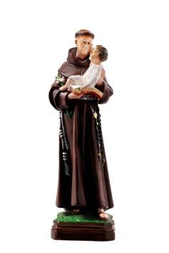 Saint Anthony of Padova statue cm. 40