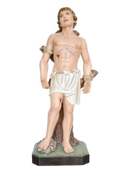 Saint Sebastian statue cm. 125