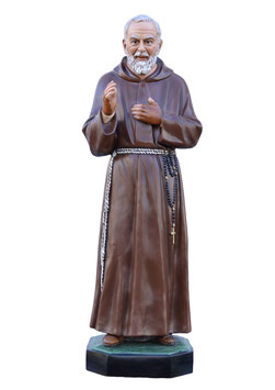Saint Padre Pio statue cm. 130