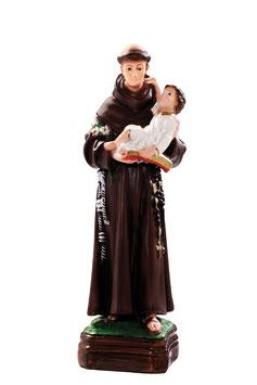 Saint Anthony of Padova statue cm. 30