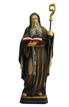 Saint Benedict woodcarving