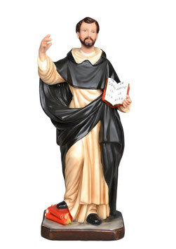 Saint Dominic of Guzman statue cm. 55