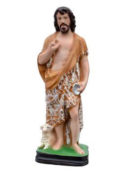 Saint John the Baptist statue cm. 30