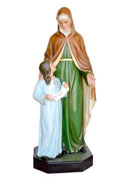 Saint Anne statue cm. 143