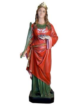 Saint Lucy statue cm. 107