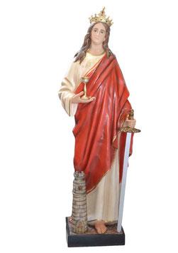 Saint Barbara statue cm. 155