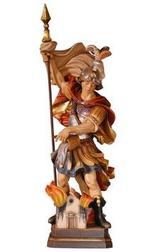 Saint Florian woodcarving