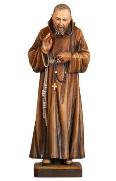 Saint Padre Pio of Pietrelcina woodcarving