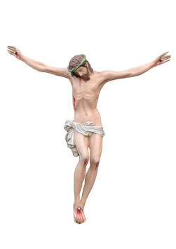 Body of Christ fiberglass statue cm. 120