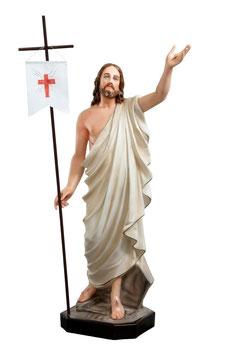 Jesus resurrection statue cm. 110