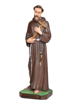Saint Francis of Assisi statue cm. 28