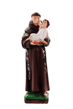 Saint Anthony of Padova statue cm. 25
