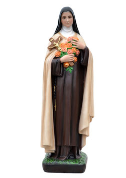 Saint Therese of Lisieux statue cm. 62