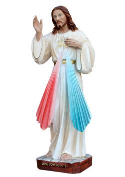 Jesus divine mercy resin statue cm. 30