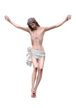 Body of Christ fiberglass statue cm. 160