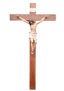 Crucifix statue cm. 140 x 70