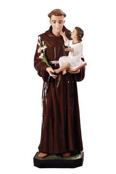 Saint Anthony of Padova statue cm. 127