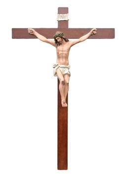 Crucifix statue cm. 220 x 120