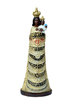 Our Lady of Loreto resin statue cm. 30